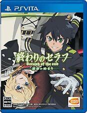 Used PS Vita Owari no Seraph: Unmei no Hajimari Japan Import Free Shipping