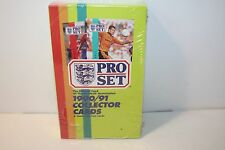 1990~1991 Pro Set Football Soccer Collectors Cards 48 packs NEW SEALED