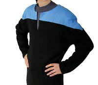 STAR TREK Voyager Uniform - blau - L - deluxe neu