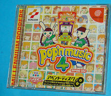 Pop'n Music 4 Append Disc - Sega Dreamcast DC - JAP