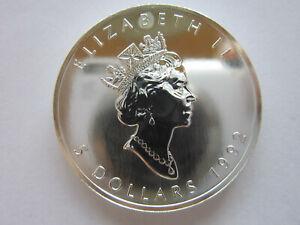 Münze Canada 999 er Silber 1992  5 Dollar