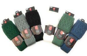 Scottish Pipe Band Luxury Kilt Hose/Socks Wool 6-9 / 9-13 New -  FAST DISPATCH !