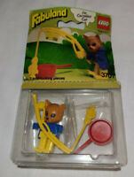 Vintage 1982 Lego Fabuland Minifigure 3701 Cornielius Cat  ~Distressed packaging