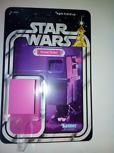 STAR WARS 1979 POWER DROID 21 BACK KENNER RESTORATION KIT HOME YOUR VINTAGE TOY