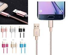 Très Résistant en Nylon tressé Lightning câble de données USB Sync Chargeur fr