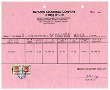 1980 Hong Kong condividere con certificato utilizzato in perfetta condizione QE2 ricavi FRANCOBOLLI.