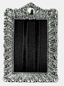 Stunning Large Finest 999 Quality Hallmarked Silver London Britannia Photo Frame