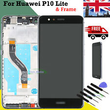 Replacement For Huawei P10 Lite LCD Touch Screen Display Digitizer Black Frame