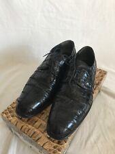 David Eden shoes size 13 Patchwork Crocodile Black