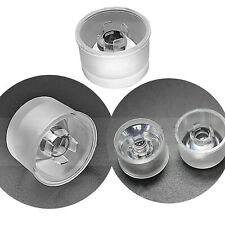 8 15 30 45 60 90 120pmma Led Lens Reflector For 1w 2w 3w 4w 5w Led Flood Light