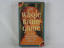 The Whole Brain Game 1990 Creative Mind Games 100% Complete Near Mint Condition