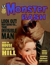 MONSTER BASH #29: INVISIBLE MAN House on Haunted Hill WEREWOLF Harryhausen NEW