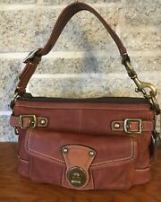 COACH 11127 65TH ANNIVERSARY LEGACY WHISKEY HANDBAG SHOULDER LEATHER BAG PURSE