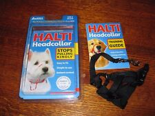 HALTI Headcollar for Large Dogs; Size 0, Color - Black