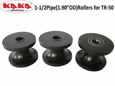 Tr50 Round Pipe Rollers Dies1 12 Pipe 19odroller For Tr50 Free Shipping