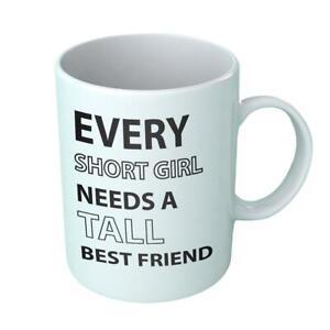 Best Friend BFF Coaster Inspired Funny TEE Xmas Friendship Day Gift Mug