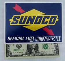 SUNOCO RACING GAS Decal (Sticker) Official Fuel of NASCAR, For Toolbox, Pit Case