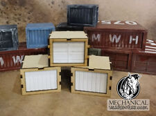 Shipping Containers (Small) war gaming terrain 40k Infinity Post apocalyptic