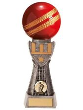 Cricket Trophies Valiant Cricket Ball Trophy 3 sizes FREE Engraving
