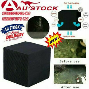 Eco-Aquarium Water Purifier Filter Cube Fish Tank Cleaning Activated Carbon AUS