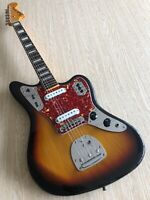 Fender Jaguar 1966 Reissue CIJ S-Serial Blocks & Binding 2005-06 Three Tone Sunb