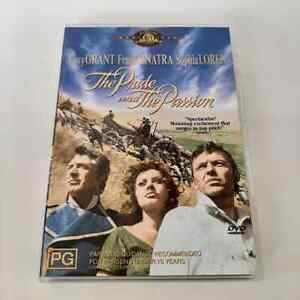 The Pride And The Passion (DVD, 2008) Cary Grant, Frank Sinatra 1957 FREE POST