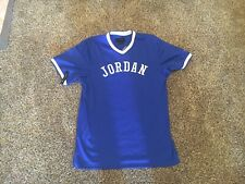 Nike Jordan Jumpman Mesh Jersey Size S Small AR0028-405 Blue Baseball Basketball