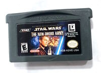 STAR WARS: THE NEW DROID ARMY NINTENDO GAMEBOY ADVANCE SP GBA Tested!
