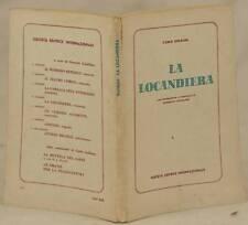 CARLO GOLDONI LA LOCANDIERA INTRODUZIONE COMMENTO ONORATO CASTELLINI 1963 TEATRO