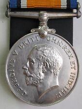 Canada WW1 British War Medal - A.Cpl. W.B. Cook 59th Canadian Inf. Battalion
