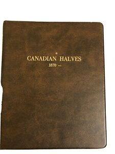 canadian Halves 1870 album, Harco Coin Master New With 5 pages