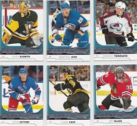 2017/18 Authentic UD Young Guns Rookie Cards  U-Pick + FREE COMBINED SHIPPING!