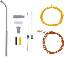 5 Stück 1,6 mm x 0,8 mm NEU S9 Viessmann H0 3563 LED rot mit angelöteten Kabeln