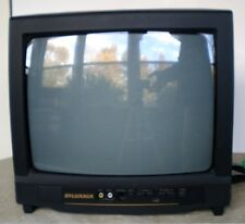 "Vintage Sylvania SRT2113 13"" CRT TV Retro Gaming Monitor NO REMOTE"