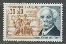 France 1966 MNH Mi 1553 Gabriel Faure,French composer, organist, pianist  **