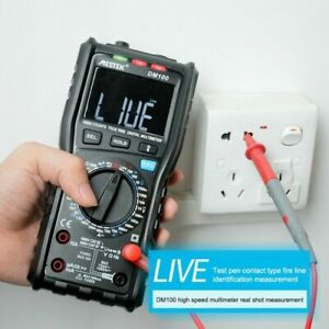 RM406B Digital Multimeter True RMS Non-contact NCV 10000 counts AC/DC Tester