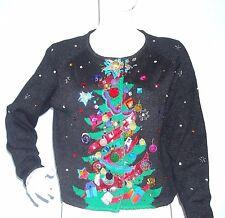 Michael Simon Christmas Tree Sweater 1995