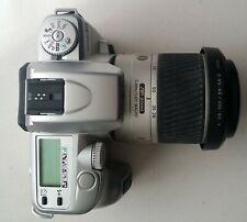Minolta Maxxum 50 35mm Camera w/ Minolta 28-100mm f3.5-5.6 Macro Autofocus Lens