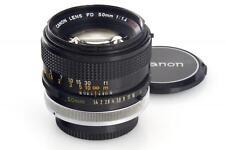 Canon FD 50/1,4 S.S.C. // 26380,2