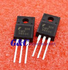 10PCS FQPF9N50C ORIGINAL 500V N-Channel MOSFET TO-220F Good Quality