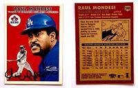 Raul Mondesi Signed 2000 Fleer Tradition #248 Card Toronto Blue Jays Autograph