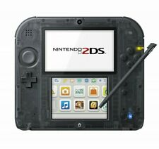 New Nintendo 2DS Clear Black console