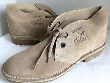 Bata of Kenya Suede Safari Boots Chukka Desert Veldtschoen UK 11 US 12 NEW