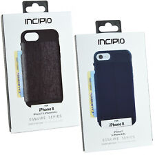 NEW Genuine Incipio iPhone 8 Wallet Card Storage Snap On Case Cover For iPhone 7