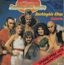 "DSCHINGHIS KHAN DSCHINGHIS KHAN / SAHARA 1979 RECORD GERMANY 7"" PS"