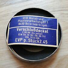 Tankdeckel für DDR Trabant 601 unverbaut - NEU Lagerware + Schild 4/7 --