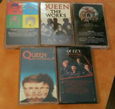 Lot Of 5 QUEEN Cassette Tapes