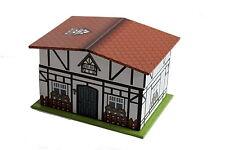 großes Schmuckkästchen Haus mit Spieluhr Fachwerkhaus Ballerina Schmuckdose