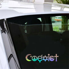 1X COEXIST Car Sticker Vinyl Decal Auto Window Bumper Wall Vehicle Graphics Gfit