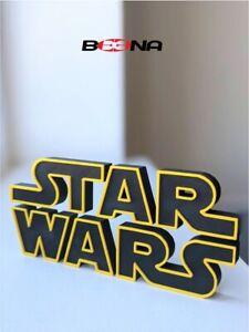 Decorative STAR WARS self standing logo display